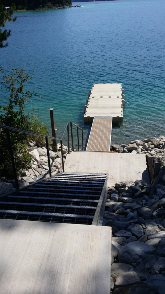 Ashley Lake Dock New